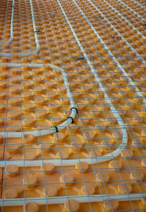 Underfloor Heating Pipe